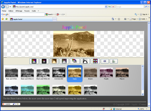 Japplis Pastel Screenshot